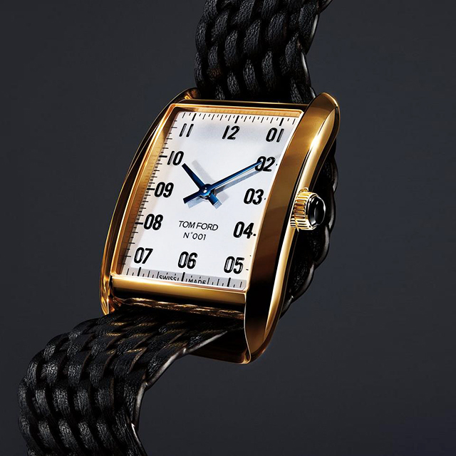Tom Ford introduces the Tom Ford 001 timepiece collection