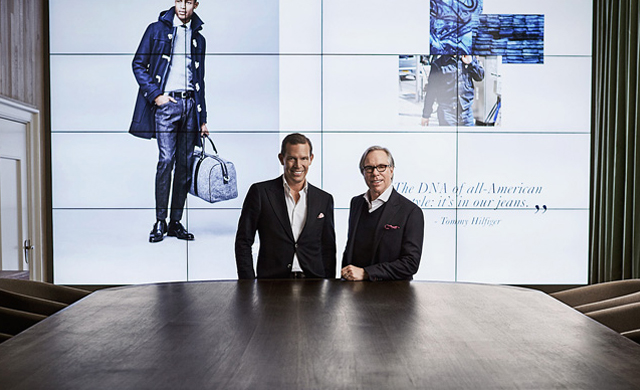 Tommy Hilfiger goes tech