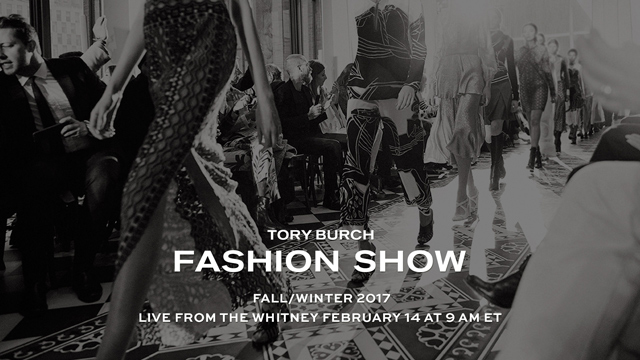 Live: Tory Burch FW17 New York Fashion Week