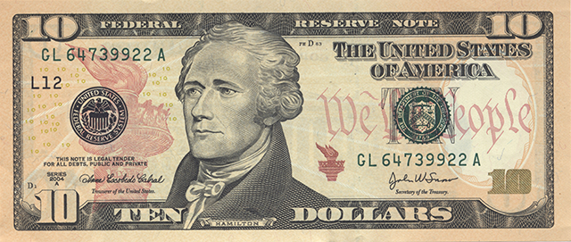The United States is putting a woman on the $10 bill