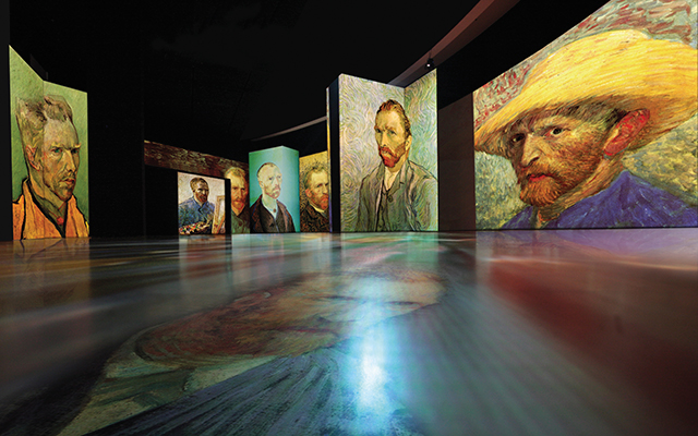 Dubai is set to host must-see exhibition 'Van Gogh Alive — The Experience'