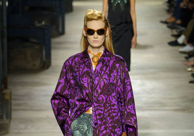 Paris Fashion Week: Dries Van Noten Spring/Summer 16