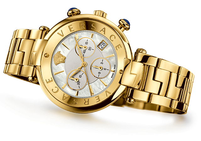 Versace presents its new timepiece evolution