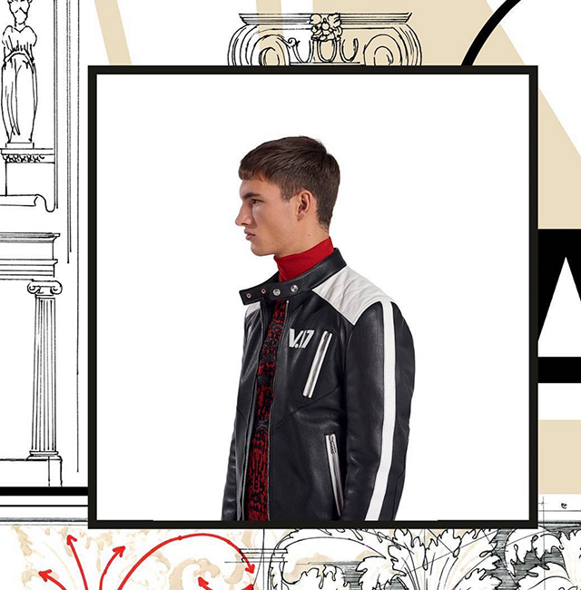 First look: Versace's Pre-Fall '17 men's collection