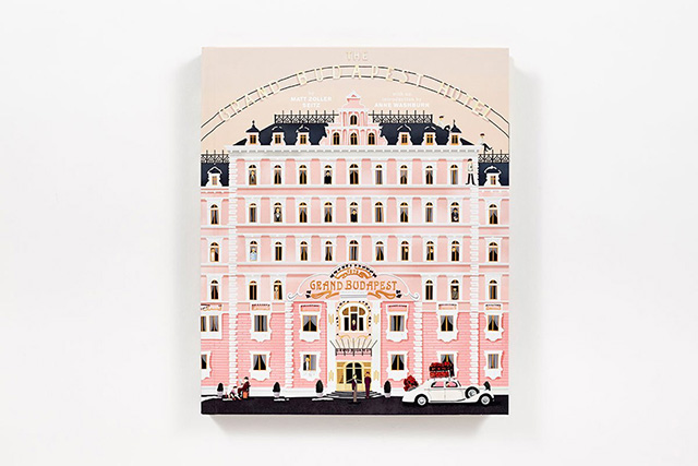 New book published in celebration of Wes Anderson's 'The Grand Budapest Hotel'