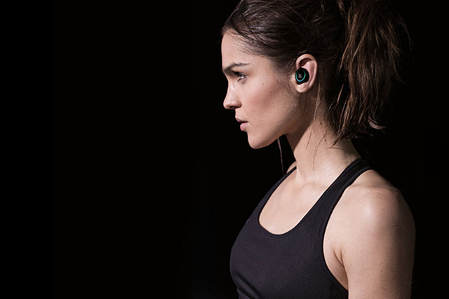 First look: Wireless smart headphones that also serve as fitness trackers