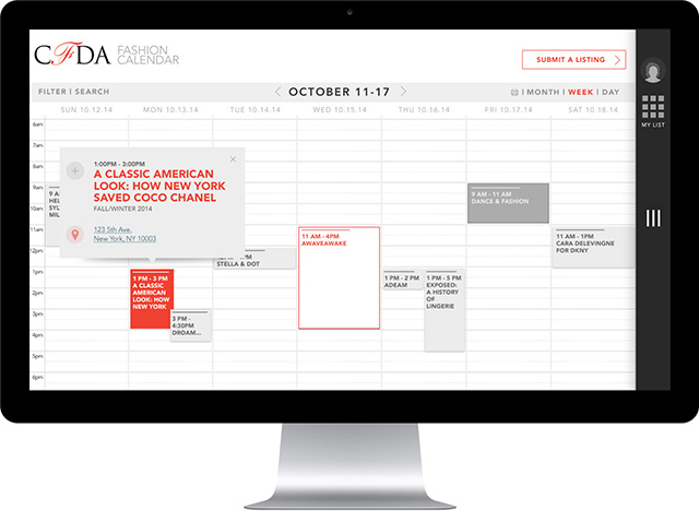 The CFDA announces plans for new and improved digital Fashion Calendar