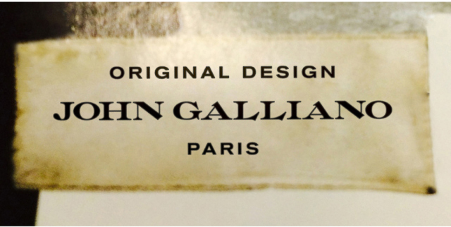 Revealed: John Galliano has a brand new logo