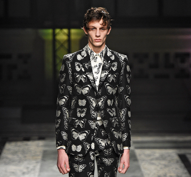 London Men's Collections: Alexander McQueen Fall/Winter ...