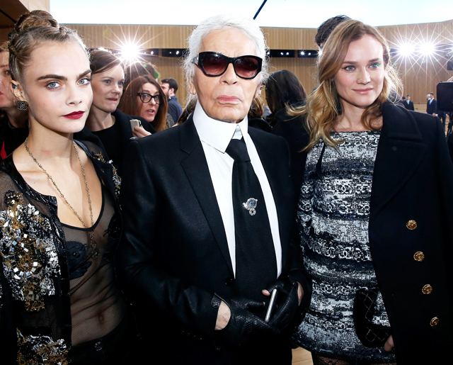 Paris Haute Couture Fashion Week: Chanel's glamorous garden guest list