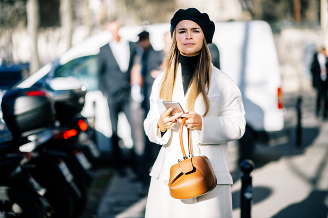 Paris Haute Couture Fashion Week: Dior Spring/Summer '16 Street Style