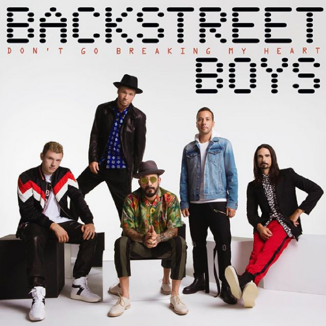Backstreet's back (alright!): Legendary '90s boy band releases new single