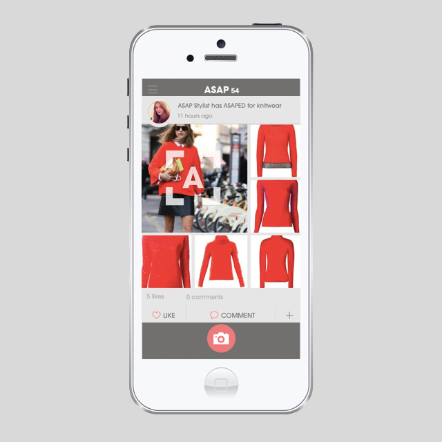 Fashion app ASAP54 offers users a unique shopping experience