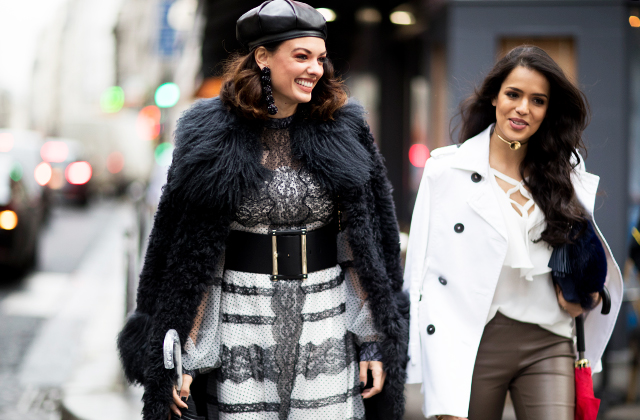 Day two: The best street style looks from Paris Haute Couture Fashion Week