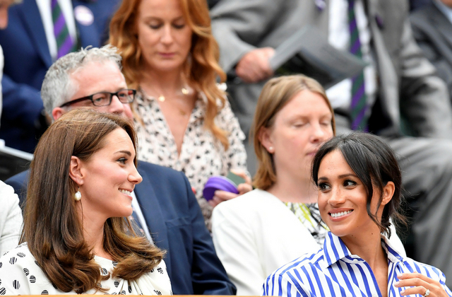 Game, set, match: Kate and Meghan watch Serena Williams at Wimbledon