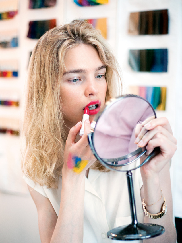 """Make-up is the most incredible fairytale"" – Natalia Vodianova on Guerlain"