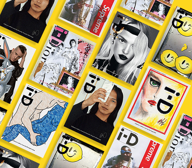i-D magazine unveil special designer covers to celebrate 35th anniversary