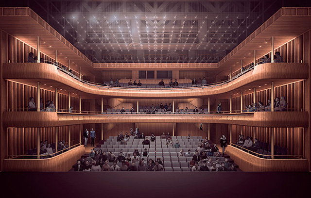 Stanton Williams wins approval to upgrade London's Royal Opera House