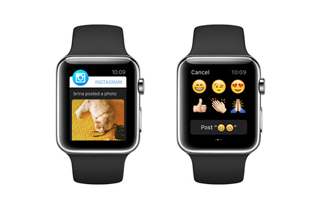 How Instagram looks on the Apple Watch