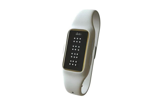 Take a look at the Dot Braille Smartwatch for the visually impaired