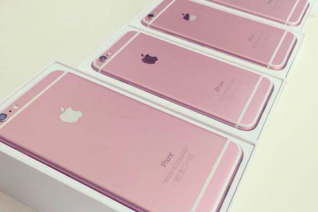 It's all rosey: Is Apple releasing a pink iPhone 6s?