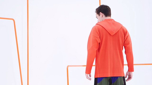 Issey Miyake debuts men's Homme Plissé collection for Spring/Summer 15