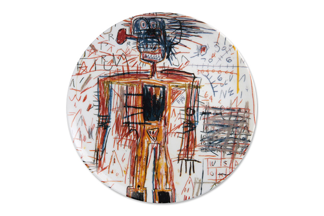 Your art is served: Ligne Blanche collaborates with Jean-Michel Basquiat estate