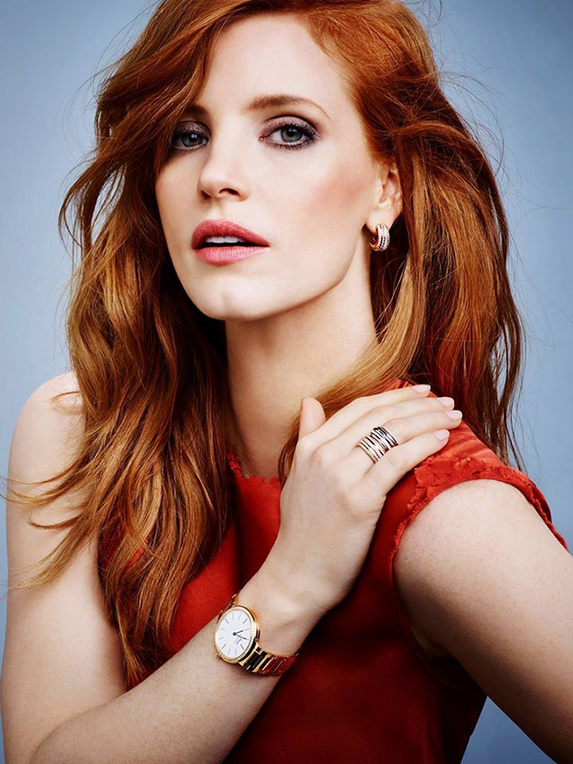 Jessica Chastain stars in new Piaget jewellery campaign