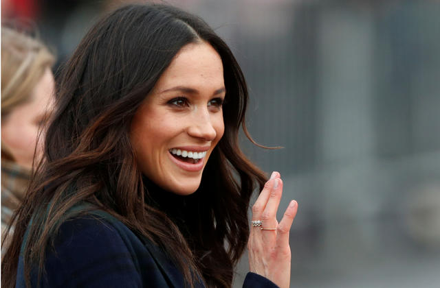 This is how to recreate Meghan Markle's signature waves at home