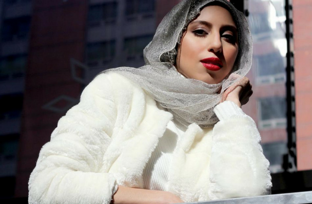 """The reason I'm doing this is to normalise the hijab in the mainstream"" — Haute Hijab founder, Melanie Elturk"