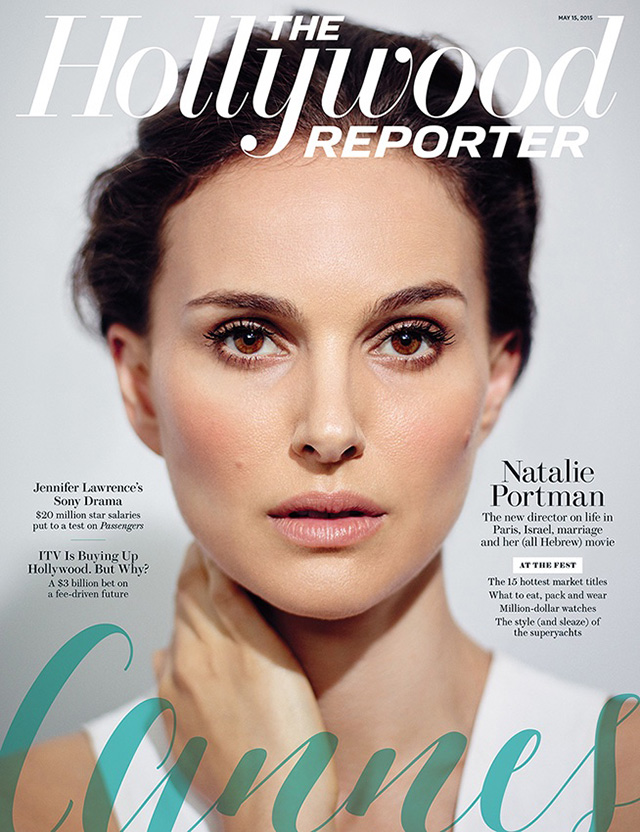 Natalie Portman covers The Hollywood Reporter and discusses Galliano rant