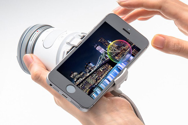 Olympus unveils creative camera lens for your smartphone