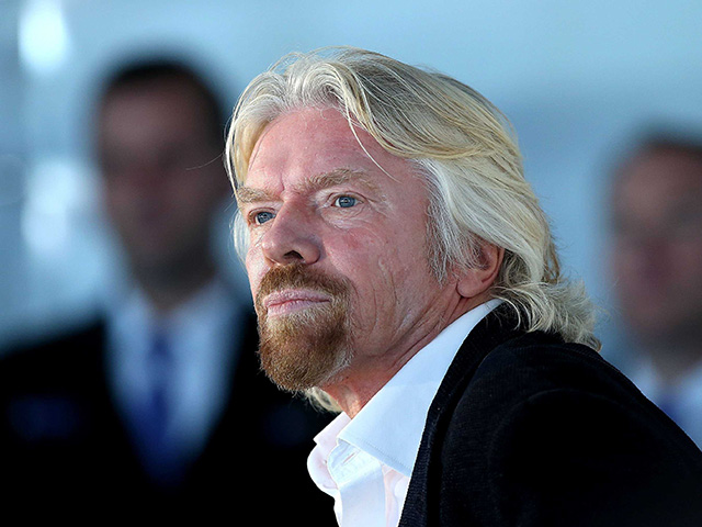 Sir Richard Branson's Virgin Galactic prepares for take-off