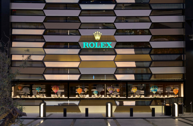Rolex opens its largest boutique in the world in The Dubai Mall