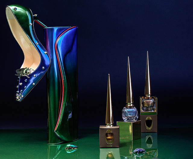 Exclusive first look: Christian Louboutin launches Scarabée limited edition collection