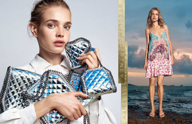 Natalia Vodianova fronts Stella McCartney's new campaign for Spring/Summer 15