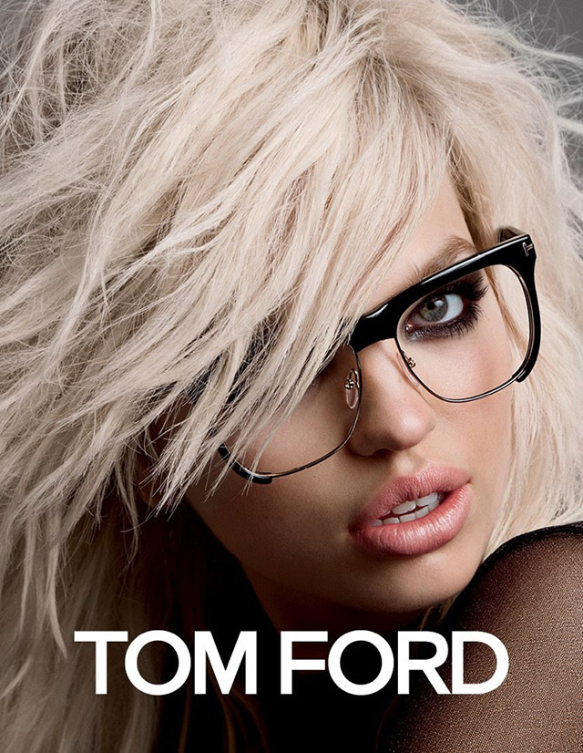 More images of the new Tom Ford campaign styled by Carine Roitfeld are released