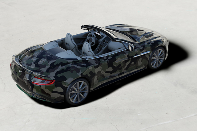 Aston Martin collaborates with Valentino for charity