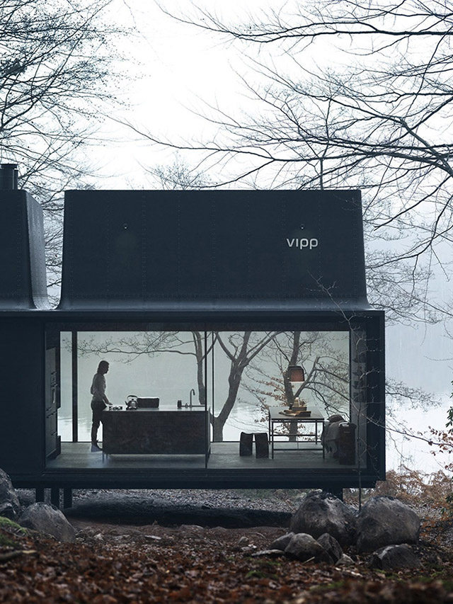 Danish design house Vipp unveil a smart new compact home
