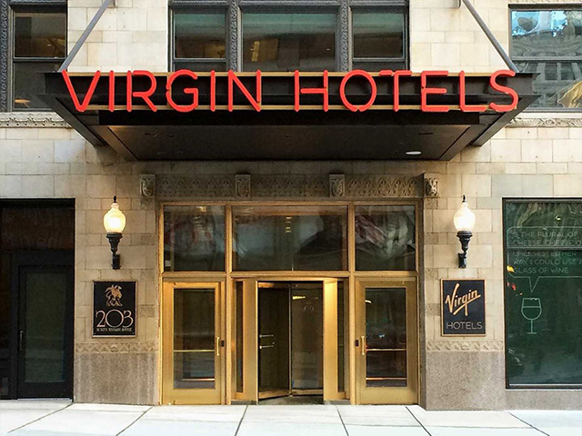 Richard Branson's Virgin Group opens world's first Virgin Hotel