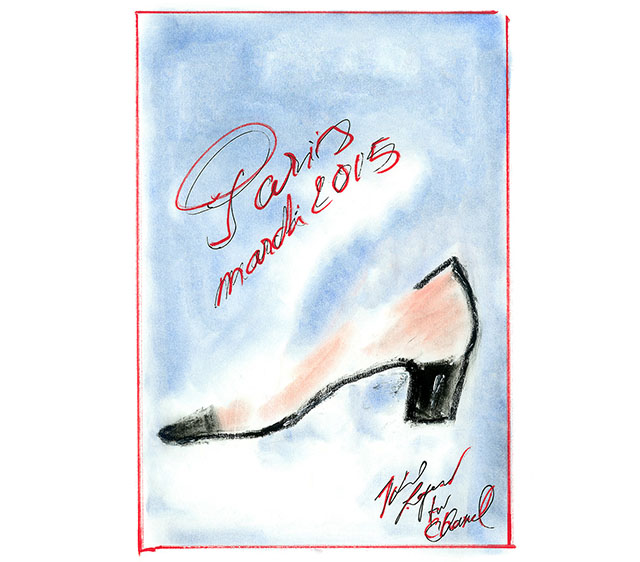 One for the shoe lovers: 'The Slingback Stories' by Chanel