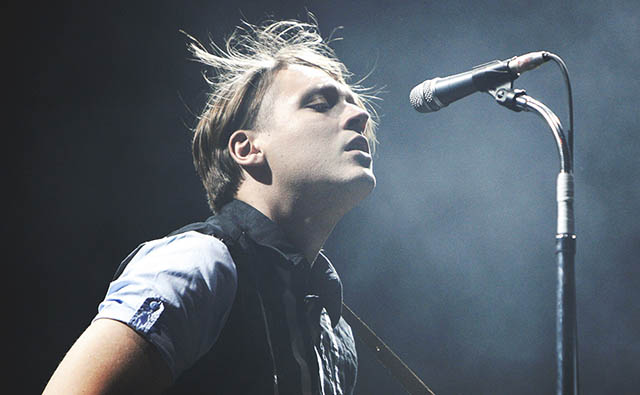 Arcade Fire's Will Bulter mashes up Kanye West and Beck tracks