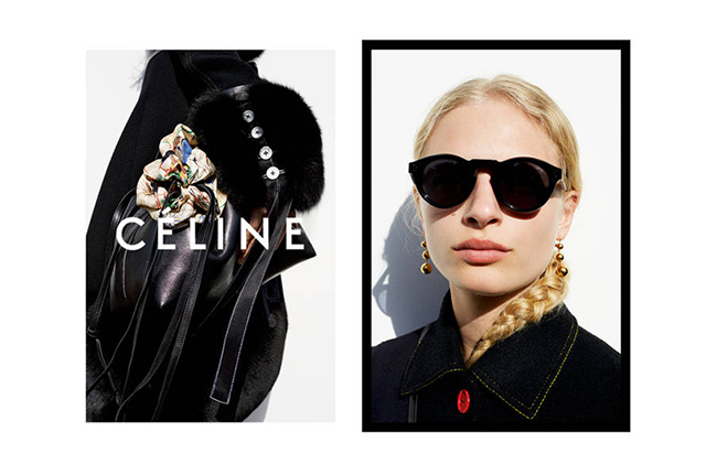 First look: Céline casts fresh new faces for Autumn/Winter 15 campaign