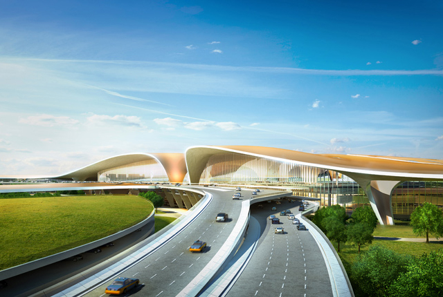 Zaha Hadid and ADPI will design the world's largest terminal in Beijing