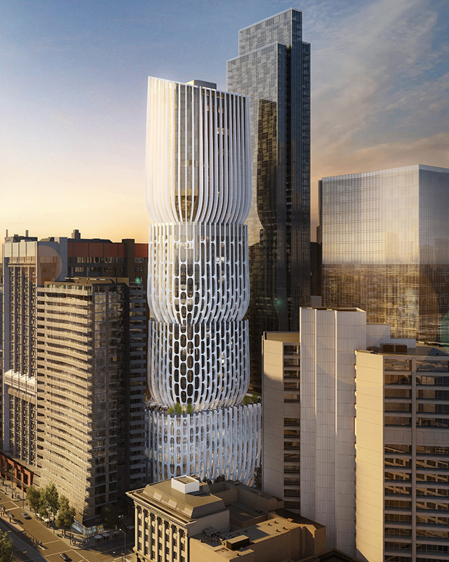 Zaha Hadid designs first Melbourne Tower