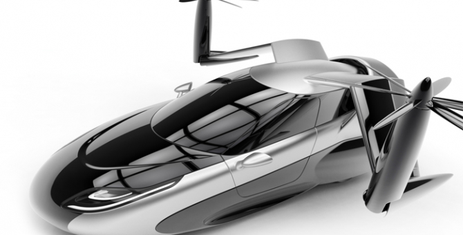 Driven to fly: Meet the new flying car design of the future
