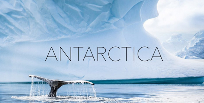 Take a look at this incredible aerial footage of the Antarctica