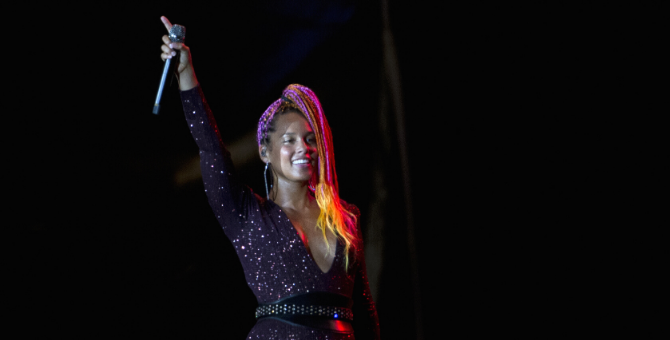 Alicia Keys and Valentino team up for a virtual concert
