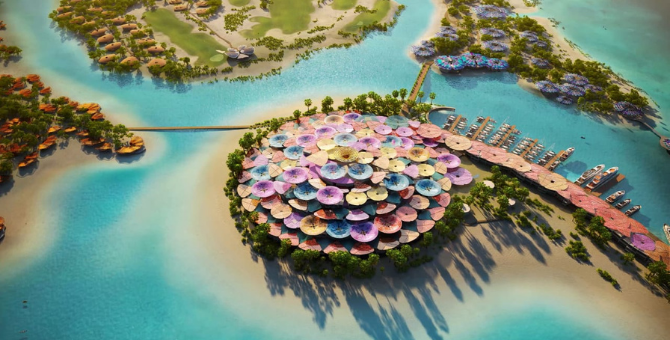 Here's your first look at Saudi Arabia's 'Coral Bloom', a luxury part of Red Sea Project