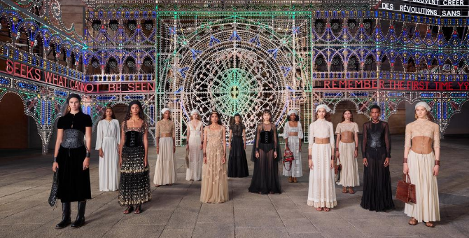 Dior kicks off Cruise '21 season with spectacle in Italy